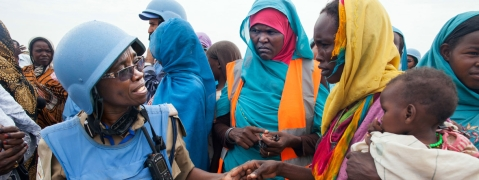 UN suspending handover of camps in Darfur