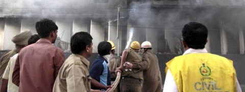 Fire at building near Parliament street, no casualties