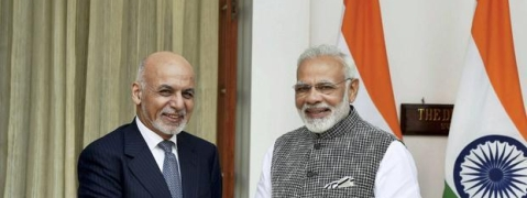 PM Modi meets Afghan Prez, discusses bilateral issues