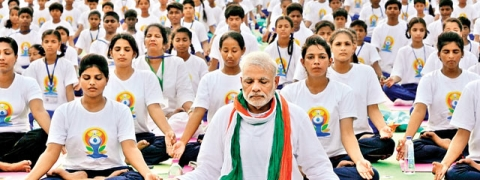 PM advocates Yoga for peace, harmony & prosperity