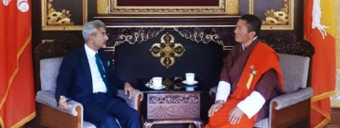Jaishankar calls on Bhutanese PM, discusses bilateral issues