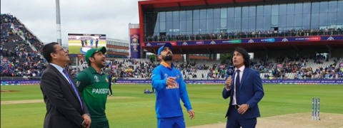 W C: India versus Pakistan, India to bat first