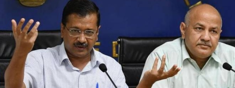 Kejriwal, Sisodia discuss retirement of corrupt officials with LG