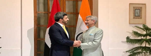 UAE Foreign Minister meets Dr Jaishankar, discusses bilateral & regional issues