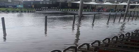 Rain in Jammu: city waterlogged, water enters airport terminals