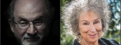 Salman Rushdie, Margaret Atwood on Booker Prize list