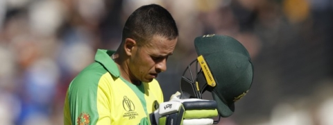 Usman Khawaja ruled out of World Cup with hamstring injury