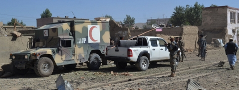 Car bomb hits Ghazni province in Afghanistan