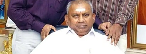 Rajagopal surrenders, lodged in jail