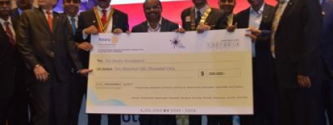 RCHD donates Rs 1.75 crore to Rotary Foundation