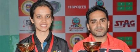 Kalyani, Sunil Ahuja win Chandigarh Ranking TT titles