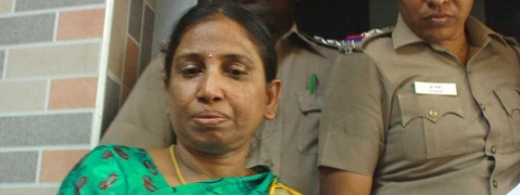 Nalini released from Vellore prison on parole