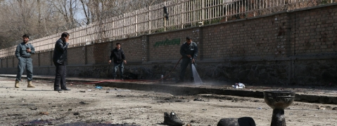 Four dead, 16 injured as blast hits outside Kabul university