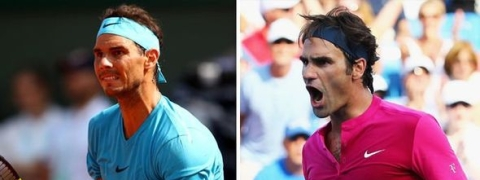 Roger Federer vs Rafael Nadal head-to-head record