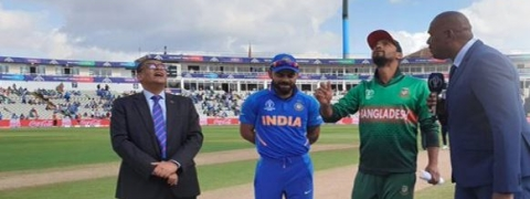 India wins toss, opt to bat against Bangladesh; Bhuvi and Karthik in