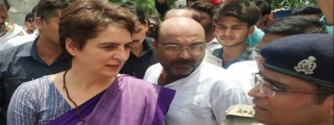 Will not return without meeting families of Sonbhadra victims: Priyanka