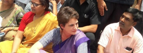 Priyanka's arrest in UP, Cong calls for nationwide protest
