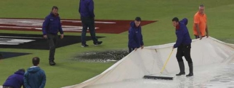 India vs New Zealand: Intermittent Rain expected