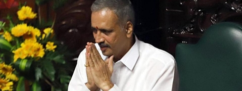 Vishveshwara Hegde Kageri is the new Speaker of Karnataka