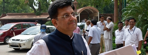 Goyal flays Ashok Gehlot for 'withdrawing' from rail projects