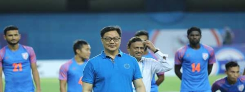Rijiju assures 'extra financial support' for football