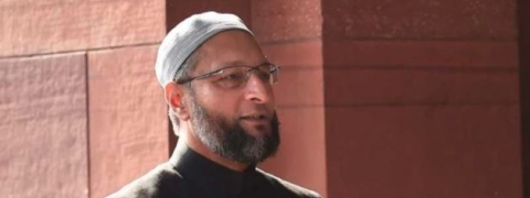 Owaisi blames Congress for bringing NIA