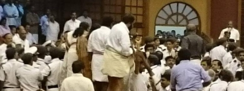 MLA faints in Kerala Assembly