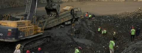 Police among 18 feared dead in Myanmar jade mine landslide
