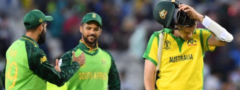 South Africa defeat Australia by 10 runs