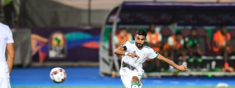 Mahrez leads Algeria to AFCON final by late winner against Nigeria