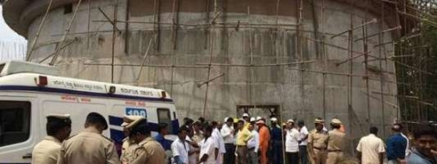 Water tank collapses in Nashik, 4 dead