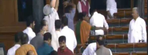 K'taka crisis: For third day, Oppn stage walk-out in LS