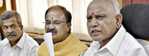 Karnataka Govt. in deep crisis,12 Cong. MLAs likely to resign
