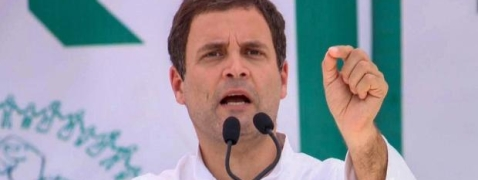Priyanka's 'arrest' reveals BJP's insecurity in UP: Rahul