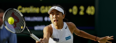 China's Zhang Shuai into second round at Wimbledon