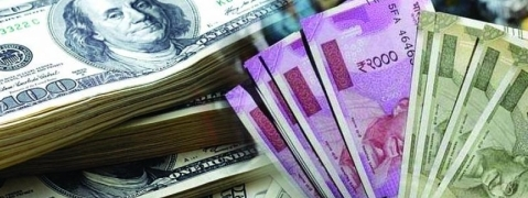 Rupee up by 15 paise versus USD