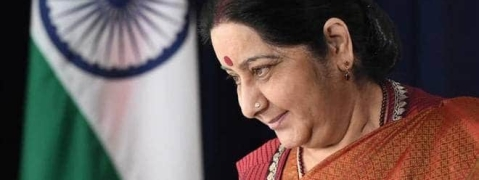 Sushma congratulates PM, FM for Budget
