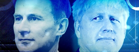 Conservative leadership: Johnson and Hunt await result of vote