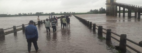 Flood levels in River Krishna reach near danger mark