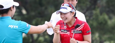 Lee flies high with Asiana Airlines Open win