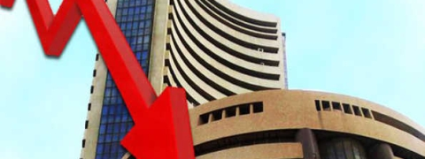 Sensex down by 399.22 points last week