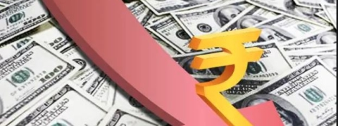 Rupee falls by 6 paise against dollar