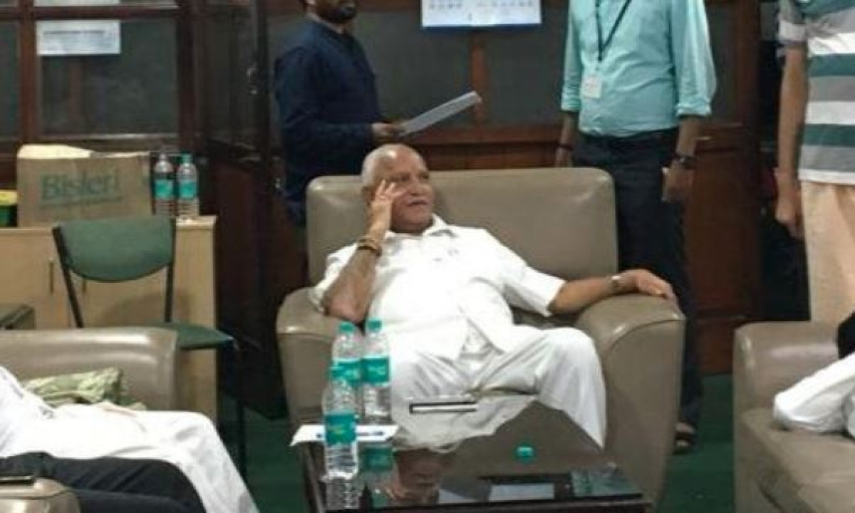 BJP plays out overnight drama in Karnataka Assembly