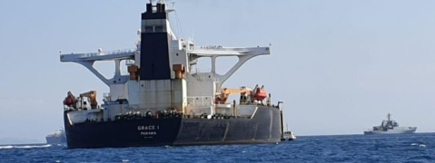 Iran summons UK envoy in tanker seizure row