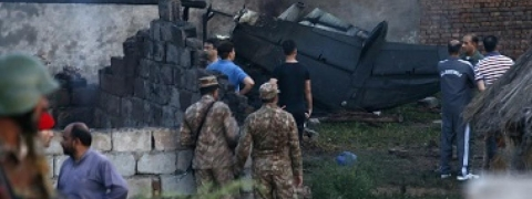19 dead as small plane crashes in Pakistan's Rawalpindi