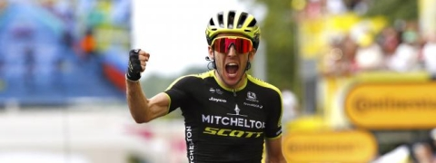 Yates takes second stage win in Tour de France