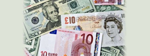 USD, Euro up; Pound down