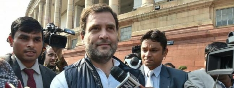 Rahul slams Modi Govt for anti-farmer budget