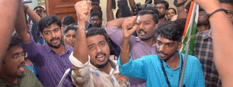 Protests against campus violence, KSU activist reaches CM's office