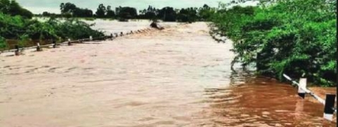 Two foresters feared drown in flood waters in Aurangabad
